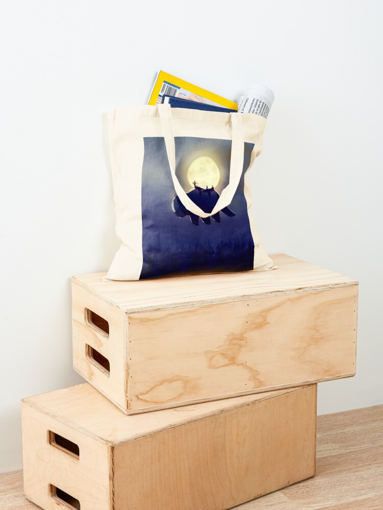 Alternate view of The End of All Things - Night Version Tote Bag