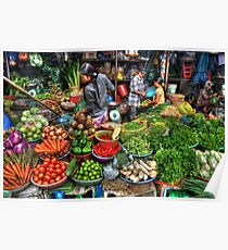 Vietnam Markets Poster