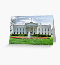 The White House  Greeting Card