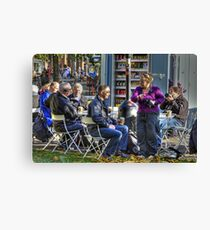 Even Bubblers need Coffee Canvas Print