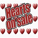 Hearts on Sale by vinee