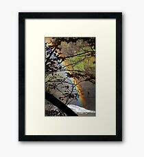 Peek-a-bow Framed Print