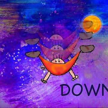 Falling DOWN by DebStuckey