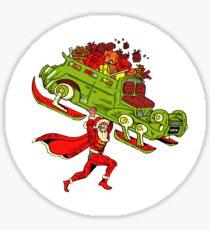 Action Christmas -  Super Mr Santa! Sticker