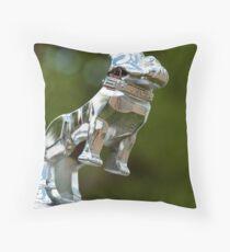 A Bulldog Named Mack Throw Pillow