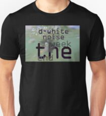 D-White Noise - The Week End ep - Merch Slim Fit T-Shirt