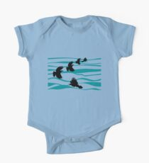 Tuis and the Blue Ocean One Piece - Short Sleeve