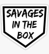 Savages in The Box T-Shirt Sticker