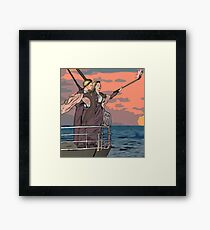 Titanic selfie Framed Print