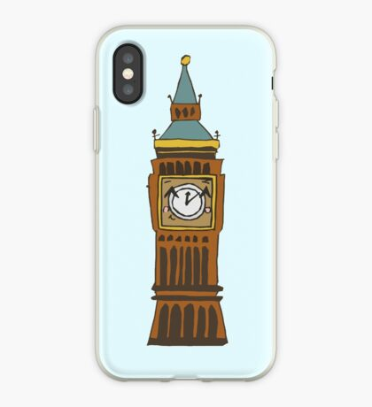 Cute Big Ben Tee iPhone Case