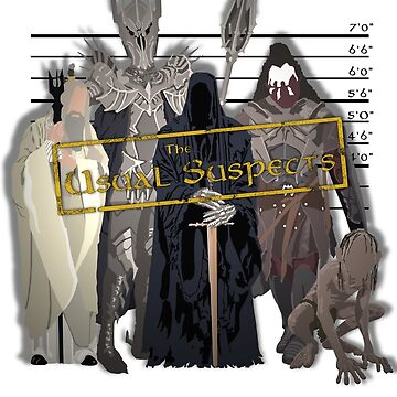 The Usual Suspects - Villains by grevls