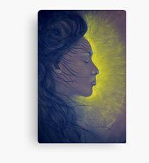 Light of beauty Canvas Print