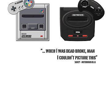 Juicy - Super Nintendo Sega Genesis by grevls