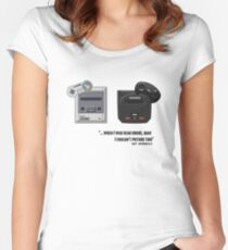 Juicy - Super Nintendo Sega Genesis Women's Fitted Scoop T-Shirt