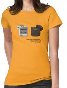 Juicy - Super Nintendo Sega Genesis Womens Fitted T-Shirt
