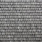Grey Wooden Roofing Shingles by Mythos57