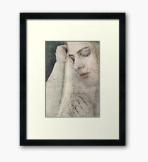 Concerning Love Framed Print