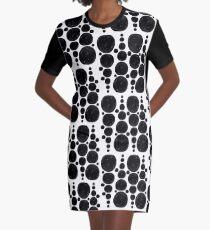 Dotty Graphic T-Shirt Dress
