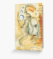 Magus Greeting Card