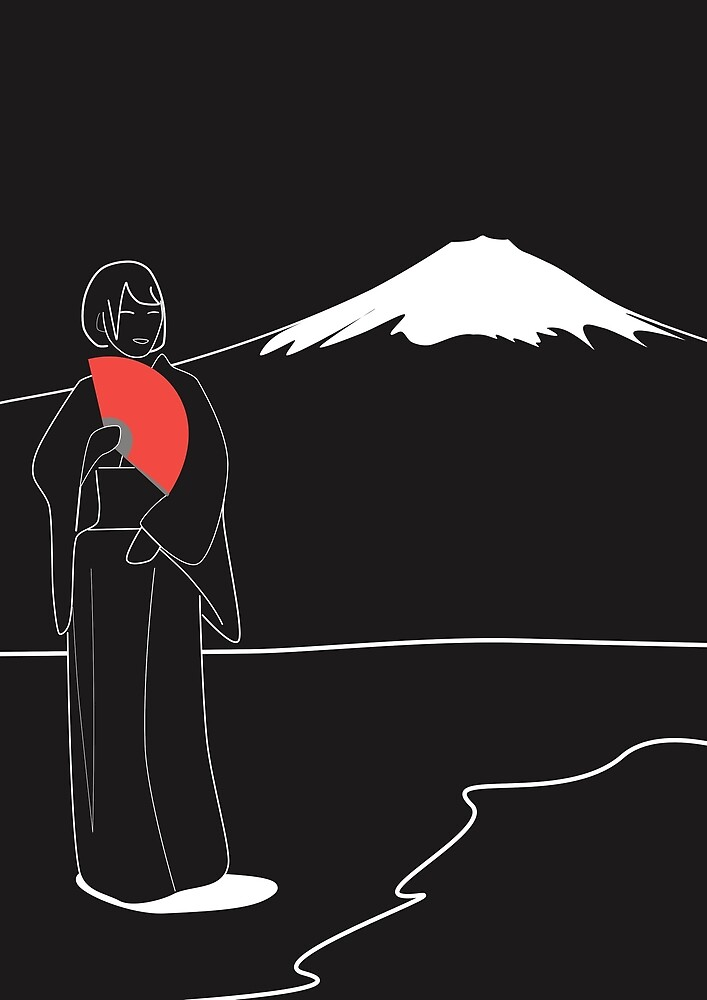 In Admiration of Fuji-San by Ross Hall