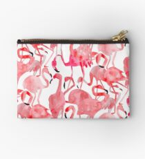 Flamingo Flamboyance Zipper Pouch