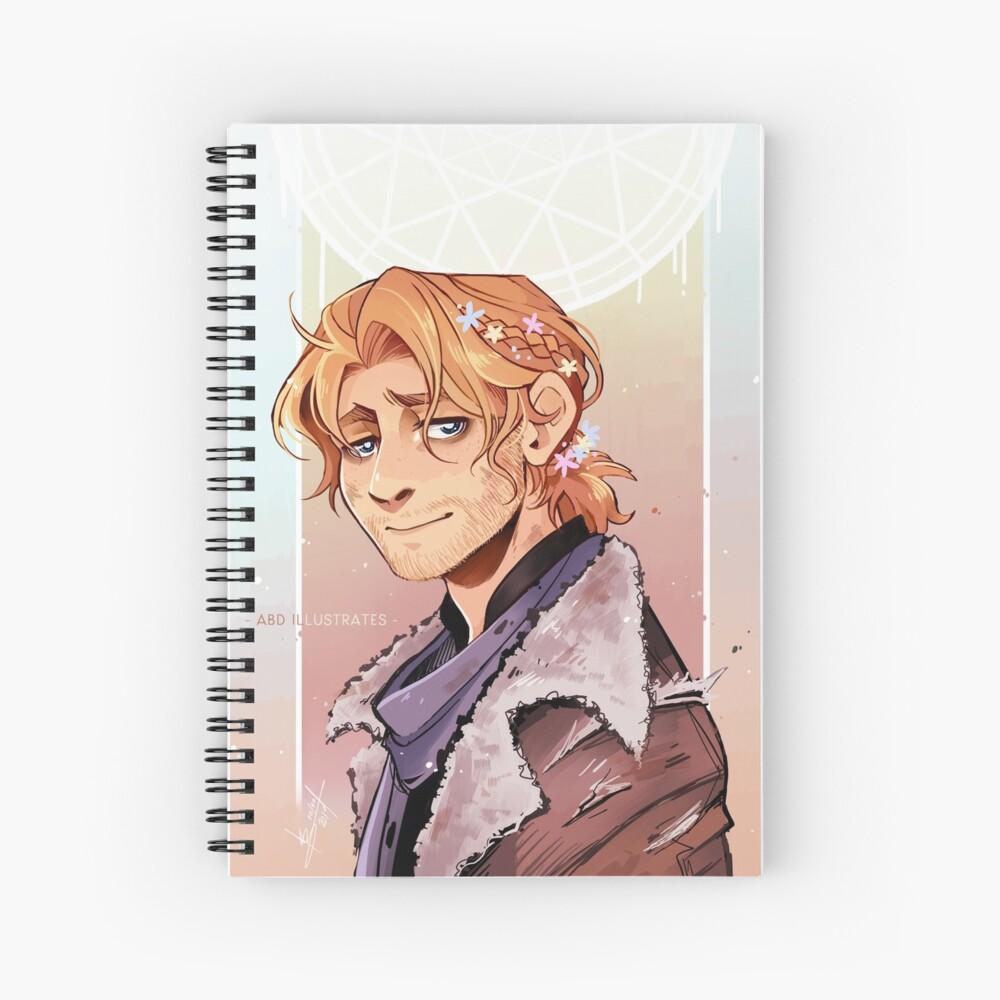 Caleb Spiral Notebook