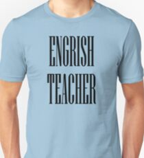 Engrish black Unisex T-Shirt