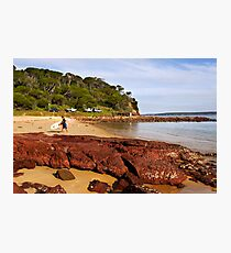 Bar Beach at Merimbula Photographic Print