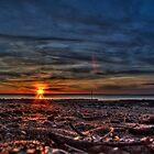 Deep sunset by Daniel Rayfield