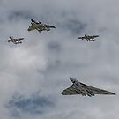 4 V's Flypast by SWEEPER