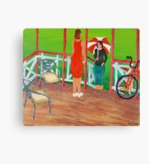 Hi, Come in for a Chat. Canvas Print