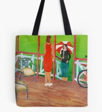 Hi, Come in for a Chat. Tote Bag