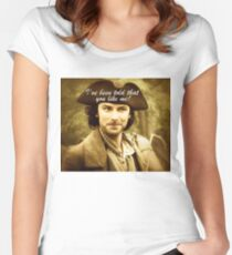 Sexy Poldark in Cornwall Women's Fitted Scoop T-Shirt