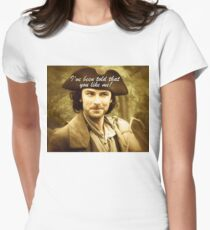 Sexy Poldark in Cornwall Women's Fitted T-Shirt