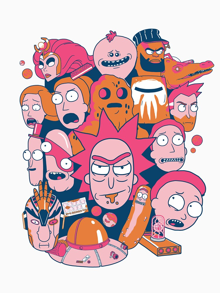 Rick und Morty Collage von ToastMonsters