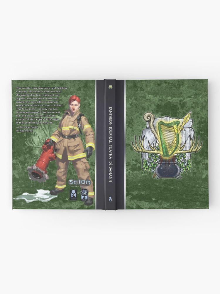 Alternate view of Scion Pantheon: Tuatha Hardcover Journal