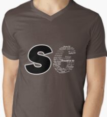 Castle S6 Men's V-Neck T-Shirt