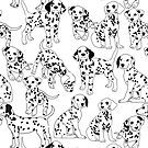 Dalmatian party by theseakiwi