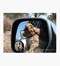 Yippee We're Going Camping Photographic Print