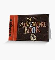 My Adventure Book from Up Greeting Card