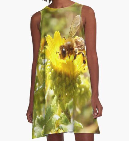 Honey Bee A-Line Dress