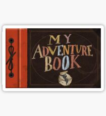 My Adventure Book from Up Sticker