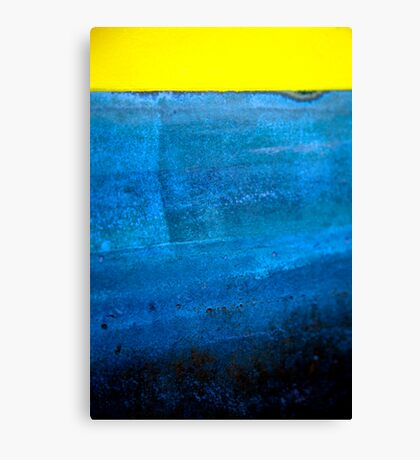 The yellow one Canvas Print