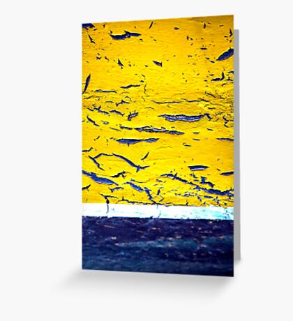 A Yellow One Greeting Card
