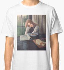 Cute girl at breakfast - Digital Art Classic T-Shirt
