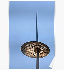 Lamp post London Poster
