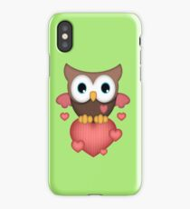 Owl in Love  iPhone Case/Skin