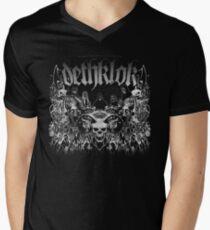 Dethklok Metalocalypse T-Shirt Men's V-Neck T-Shirt