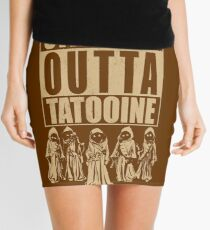 Straight Outta Tatooine Mini Skirt