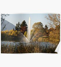 Water Fountain Salmon Arm B.C.  Poster